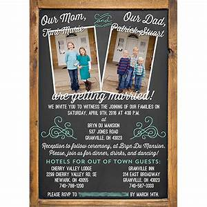 blended family wedding invitations With wedding invitation etiquette blended families
