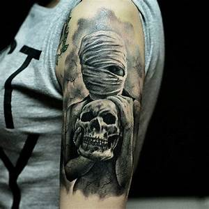 9 Ancient Mummy Tattoo Designs for Women and Men