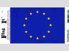 EU DEKAL MED FLAGGA, DEKALER MED EU FLAGGOR