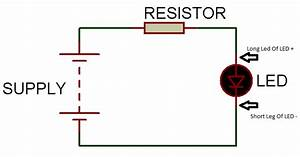 Resistors For Use With Leds - 3 3v  5v  6v  9v  12v