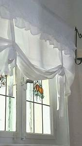 Heine Möbel Landhaus : 1 st raff gardine rollo 60 x 140 wei h kel spitze richelieu landhaus stil neu ebay ~ Indierocktalk.com Haus und Dekorationen