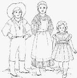 Pioneer Clothing Pioneers Coloring Children Activities Drawing Colouring Draw Boys Early Bytes History Kirsten Guy Shelbycountyhistory Pants America Wore sketch template