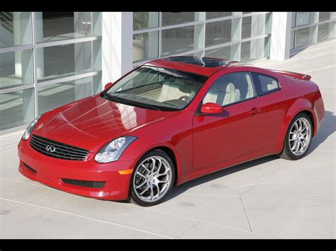 2006 Infiniti G35 Sport Coupe Front And Driver Side