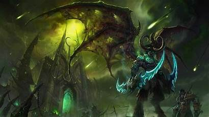 Warcraft 4k Illidan Temple Stormrage Outland Lord