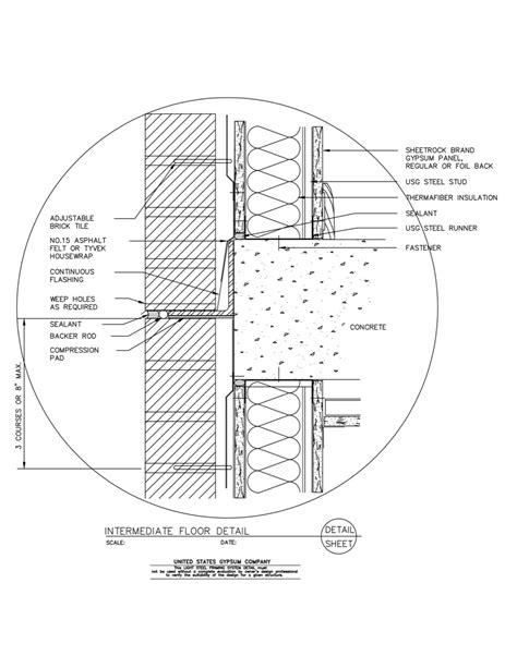 usg design studio light steel framing details