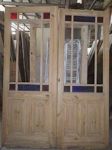 porte d39interieur 2 vantaux vitree ancienne With porte de garage et porte intérieure ancienne