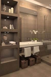 bagno in muratura 3 idee in stile non solo rustico With meuble 8 cases ikea 7 salle de bain style spa bidouilles ikea