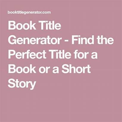 Story Short Title Generator Titles Creative Stories
