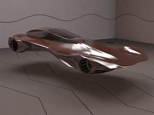 Futuristic Hover Car by marlogh on DeviantArt