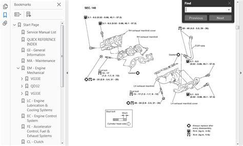 gt workshop manual service repair guide for nissan elgrand 1997 2010 ebay