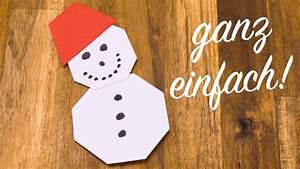 Basteln Winter Kindergarten : schneemann falten mit kindern basteln mit papier f r weihnachten youtube ~ Eleganceandgraceweddings.com Haus und Dekorationen