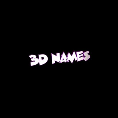 Name Animation Wallpaper - 3d name wallpapers make your name in 3d