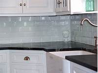 glass backsplash tiles Kitchen. White Subway Tile Backsplash Ideas: Subway Tile Design Ideas Glass Size Long Mosaics ...