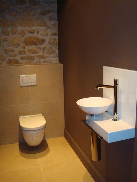 peinture chambre chocolat et beige wc un petit coin harmonieux et fonctionnel bo2 design