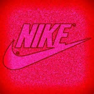 Pink Nike Logo