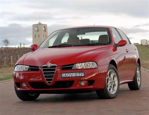 View Of Alfa Romeo 156 2.5. Photos, Video, Features And