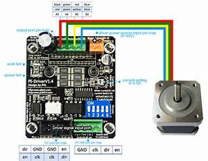 Pibot Nema17 Stepper Motor 1 65a 1 8 U00b0