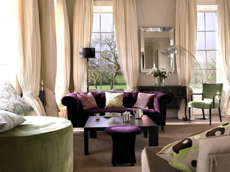 purple sofas living rooms another living room decoration idea with purple sofa i