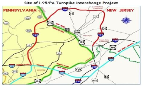 dvrc pennsylvania turnpike   interchange project