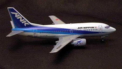 Boeing 737-500 Air Nippon Super Dolphin by Tom Grossman