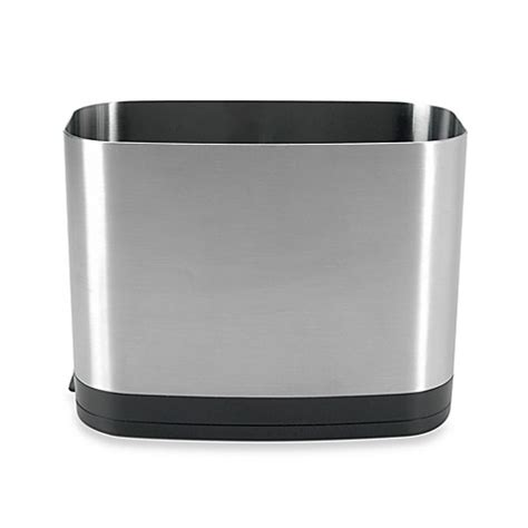 oxo utensil holder oxo grips 174 stainless steel rectangular utensil holder 1358
