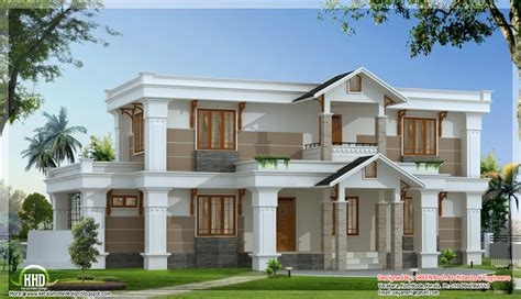 house design modern mix sloping roof home design 2650 sq