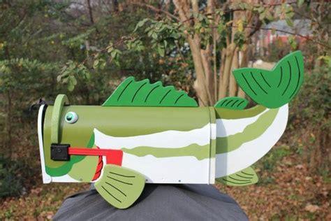 fish mailbox mailbox fish fishing decor homedecor