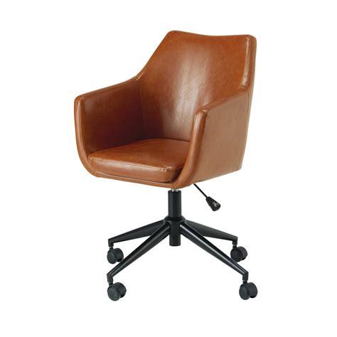 chaise de bureau maison du monde fauteuil de bureau marron 28 images fauteuil de bureau