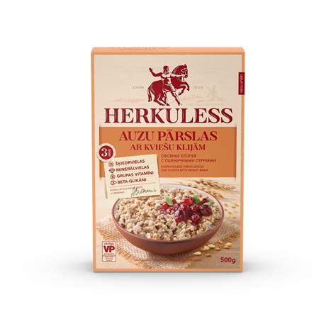 Herkuless auzu pārslas ar kviešu klijām — Rīgas Dzirnavnieks