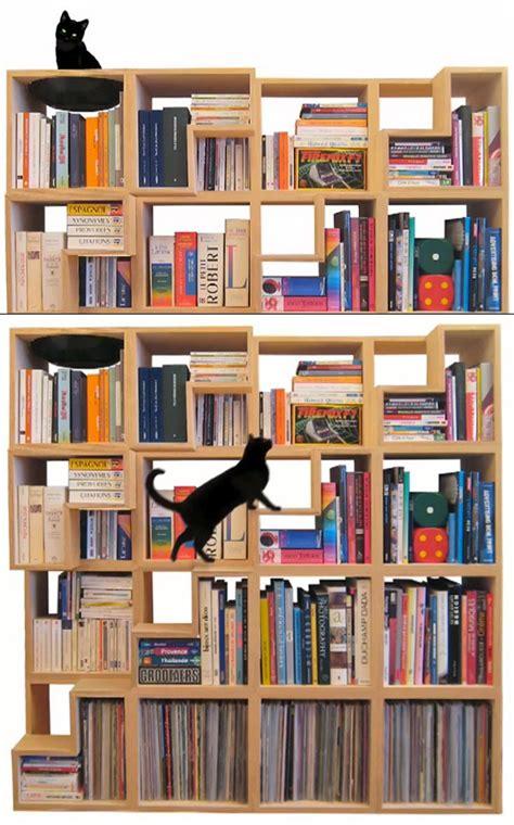 Cat Lovers, Gather Felinefriendly Modular Bookcase