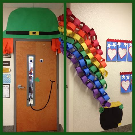 St Day Door Decorations - getting lucky st s day ideas
