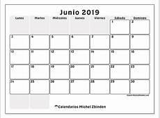 Calendarios junio 2019 LD Michel Zbinden ES
