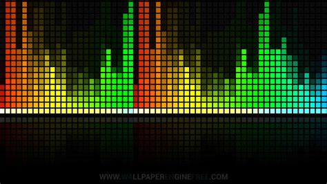 Download Customizable Rainbow Visualizer Wallpaper Engine
