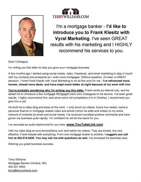 realtor introduction letter real estate introduction letter sle vmore info about 7260