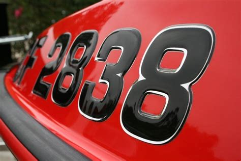 Custom Boat Numbers by Custom Made Boat Jetski Registration Numbers Domed
