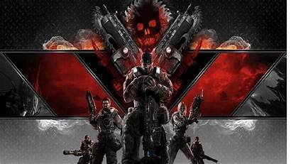 Gears War Background Wallpapers Abyss