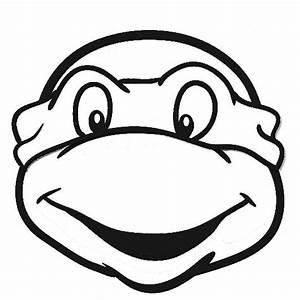 Ninja Turtle Face Template - ClipArt Best