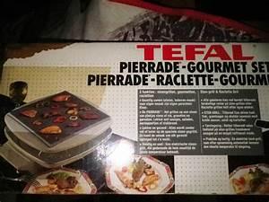 Appareil Raclette Pierrade : appareil pierrade raclette tefal pour 8 personnes ~ Premium-room.com Idées de Décoration