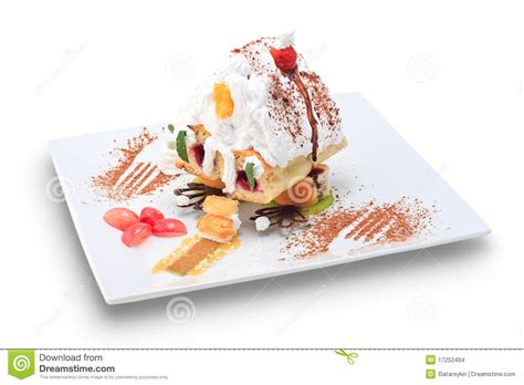 dessert in form house stock images image 17252484