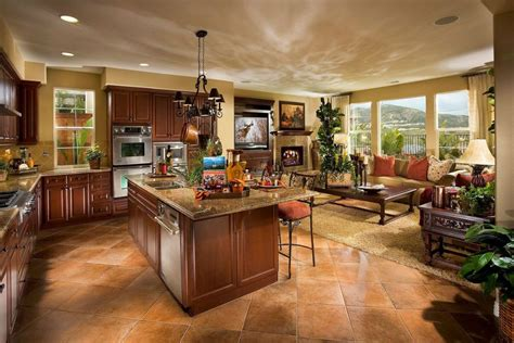 open concept kitchen  family room kitchen family room