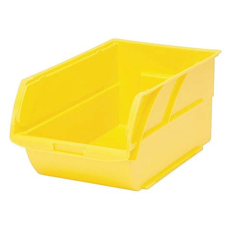 kitchen faucets for less stanley number 4 6 1 5 in stackable storage bin yellow