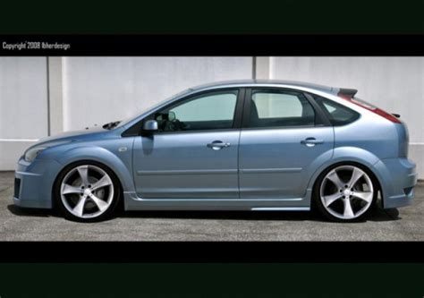 ford focus ii full body kit style mentor   door