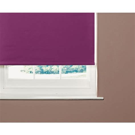 Buy Colourmatch 2ft Blackout Roller Blind  Purple Fizz At