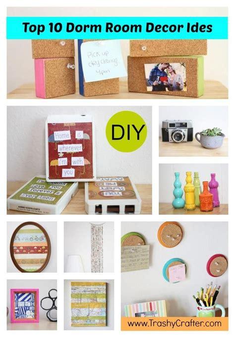 Diy Dorm Room Top 10 Dorm Room Decor Ideas Today's