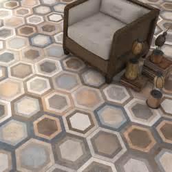 floors and decors carrelage hexagonal tomette décor 23x26 6cm bushmills 0