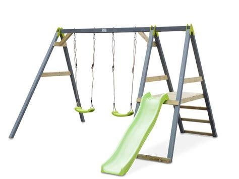 klettergerüst mit rutsche und schaukel schaukel und rutschen im garten kinder lieben schaukeln kaufen sie spielanlagen mit schaukeln