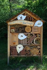 Nichoir A Insecte : construire un h tel insectes ~ Premium-room.com Idées de Décoration