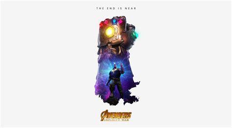 wallpaper thanos infinity gauntlet avengers infinity