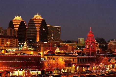 kansas city plaza lights photograph by catherine sherman