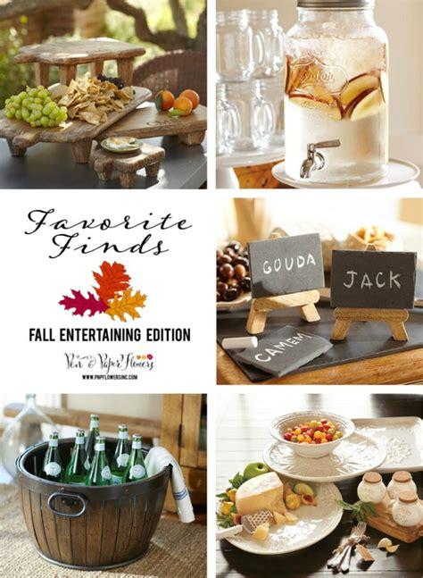 Favorite Fall Entertaining Serveware  Joyful Scribblings